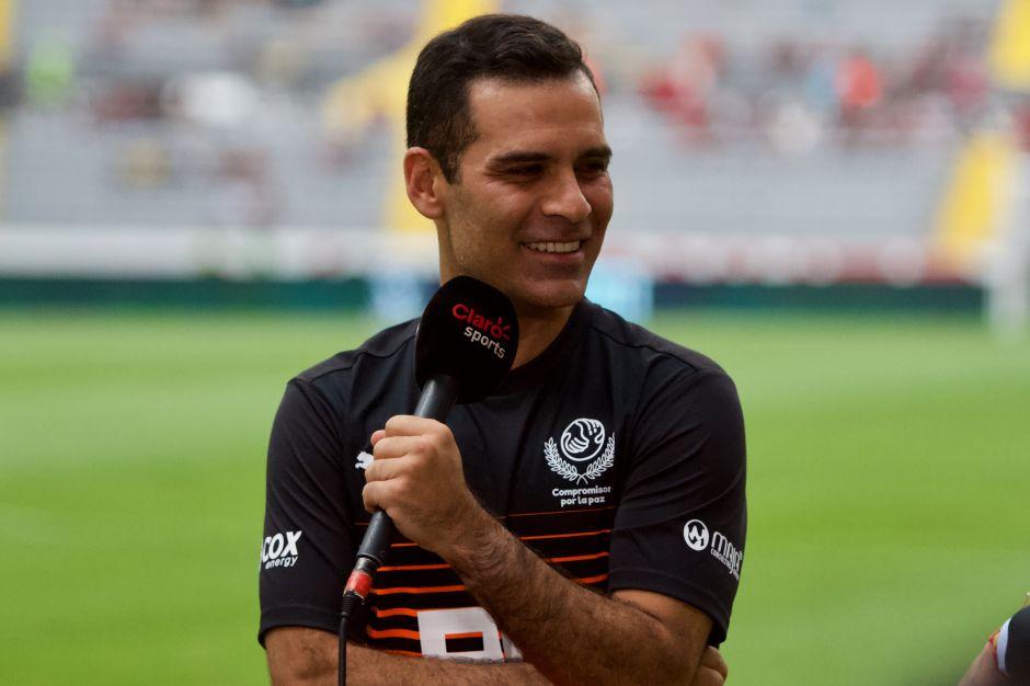 Rafa Márquez se transformó en Axl Rose