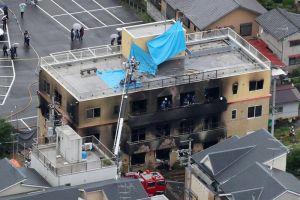 Al menos 33 muertos en incendio provocado en estudios de animación en Japón