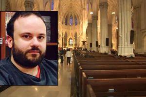 """Profesor que intentó quemar Catedral San Patricio de Nueva York no irá a juicio, por """"incapacidad mental"""""""