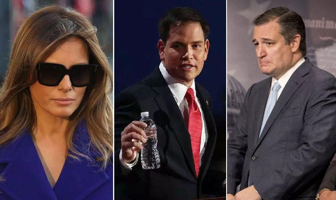 """Colaboradora de CNN sugiere enviar a Melania Trump, Ted Cruz y Marco Rubio """"a sus países de origen"""""""