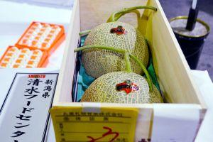 Estos melones se venden en Japón hasta en $22,500 dólares cada uno