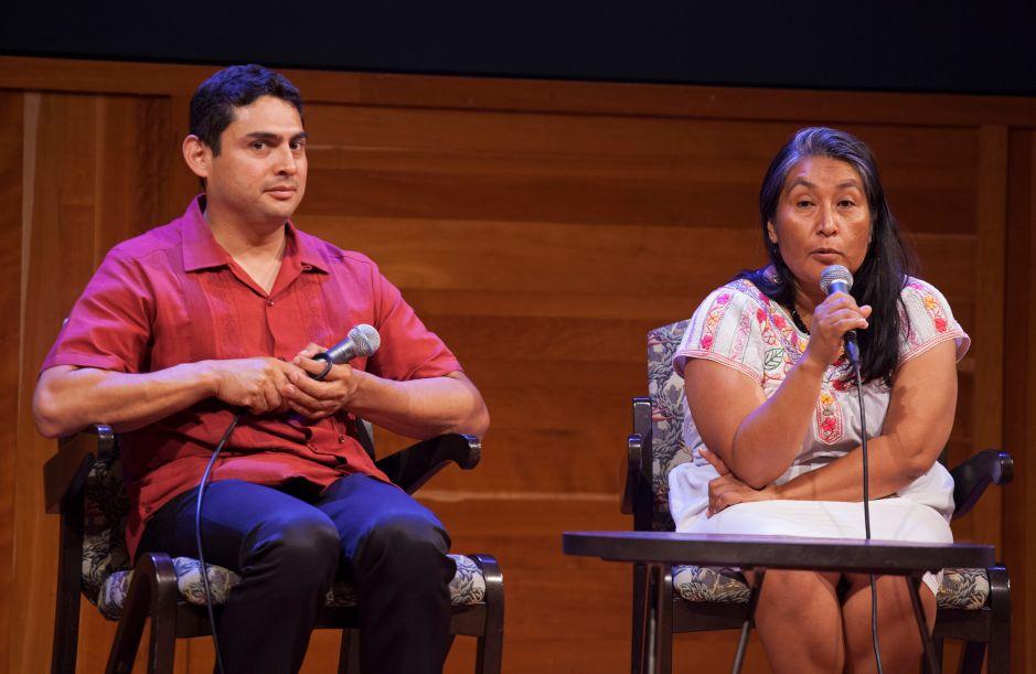 Conferencia de literatura indígena