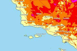 Continúa la ola de calor con temperaturas de tres dígitos en el sur de California
