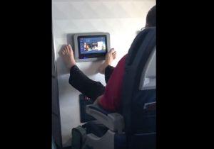 Este VIDEO es lo más desagradable que has visto a bordo de un avión
