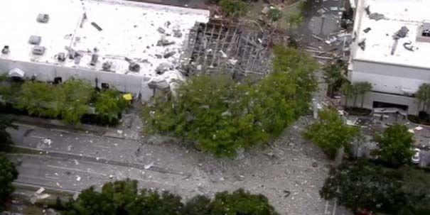 El incidente se registró en Fountains Plaza, en Plantation, al norte de la ciudad de Miami.