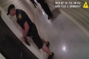 Video: Peligroso operativo captado en cámara de policía de Fort Worth