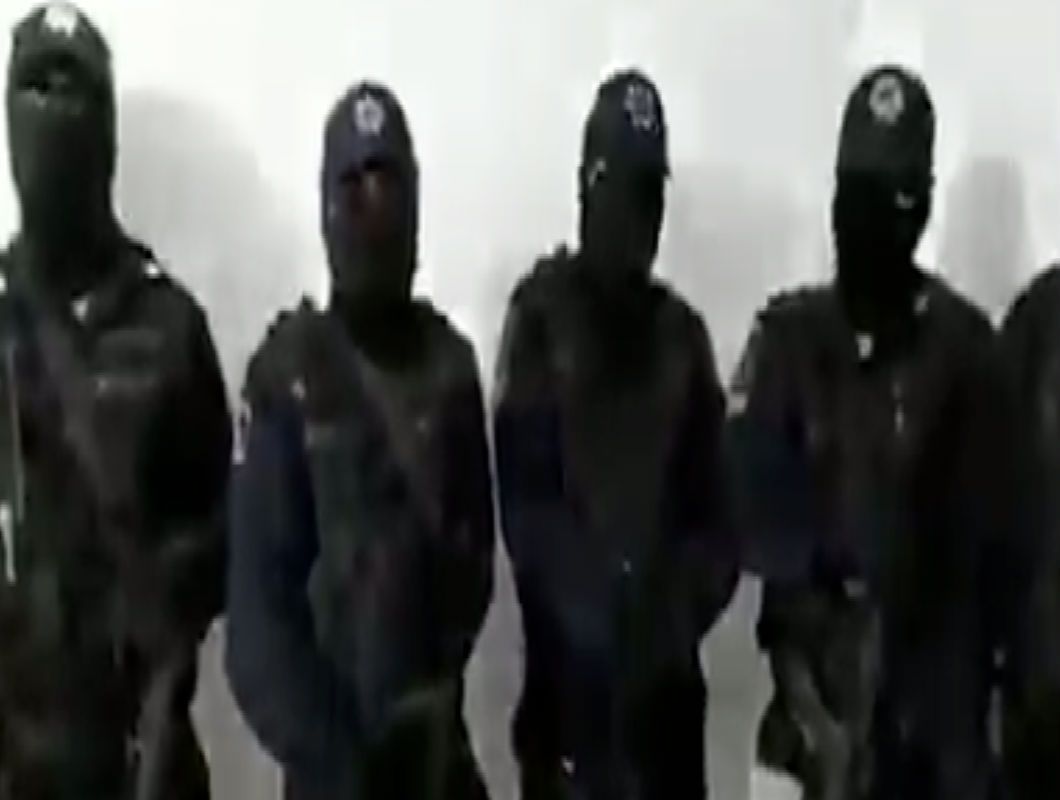 VIDEO: Encapuchados hacen fuerte revelación sobre el narco y el gobierno en México