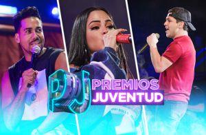 Fotos de los ensayos de Premios Juventud 2019 por Univision con Natti Natasha, Christian Nodal, CNCO y más