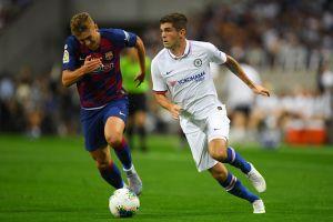 Mal estreno: Barcelona cae en el debut de Griezmann