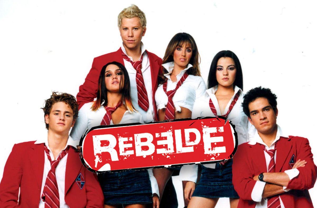 """Elenco de """"Rebelde"""".   Televisa"""