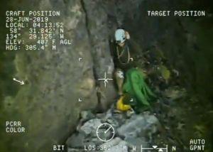 VIDEO: El impresionante rescate de montañista varado en Alaska