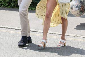 El accidente de vestuario de Pippa, hermana de Kate Middleton: viento, una falda abierta y dejó ver de más