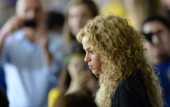 Captan de malas a Shakira y Piqué