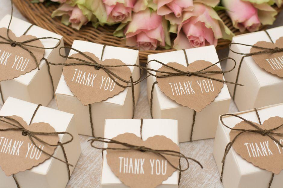 5 originales ideas para regalar a tus invitados como recuerdo de tu boda