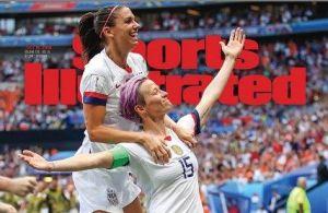Alex Morgan y Megan Rapinoe lucen sus cuerpos en Sports Ilustrated