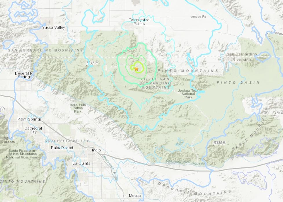 El sismo tuvo una profundidad de 7.9 km