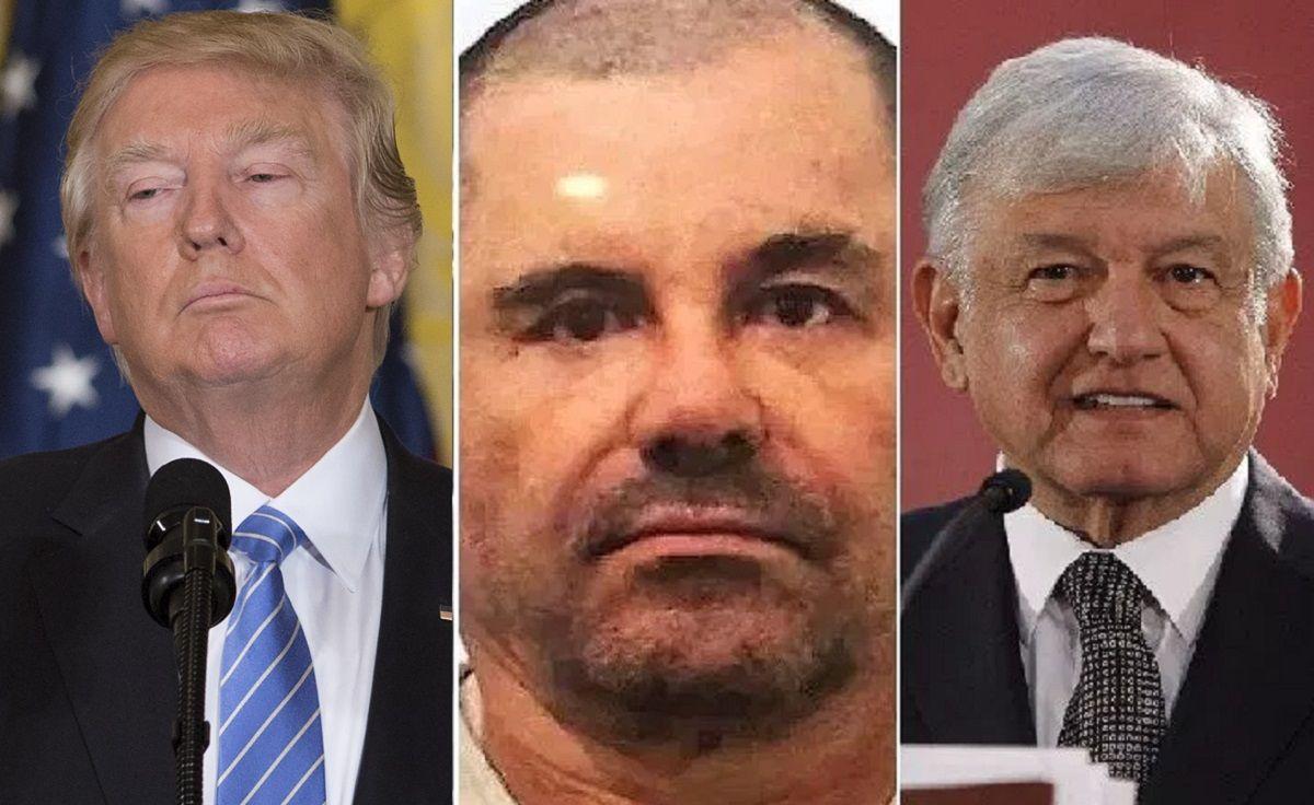 """El grupo binacional entre gobiernos de AMLO y Trump para recuperar dinero de """"El Chapo"""""""