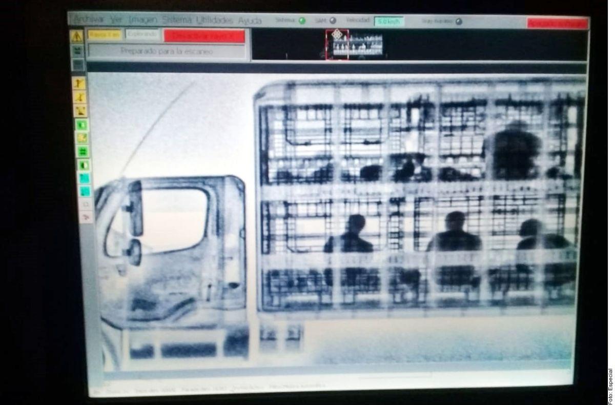 Detectan con rayos X a migrantes en Zacatecas
