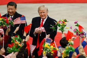 La cuenta de Twitter que traduce los tuits de Trump a sus fans en China. Tiene más de 100,000 seguidores