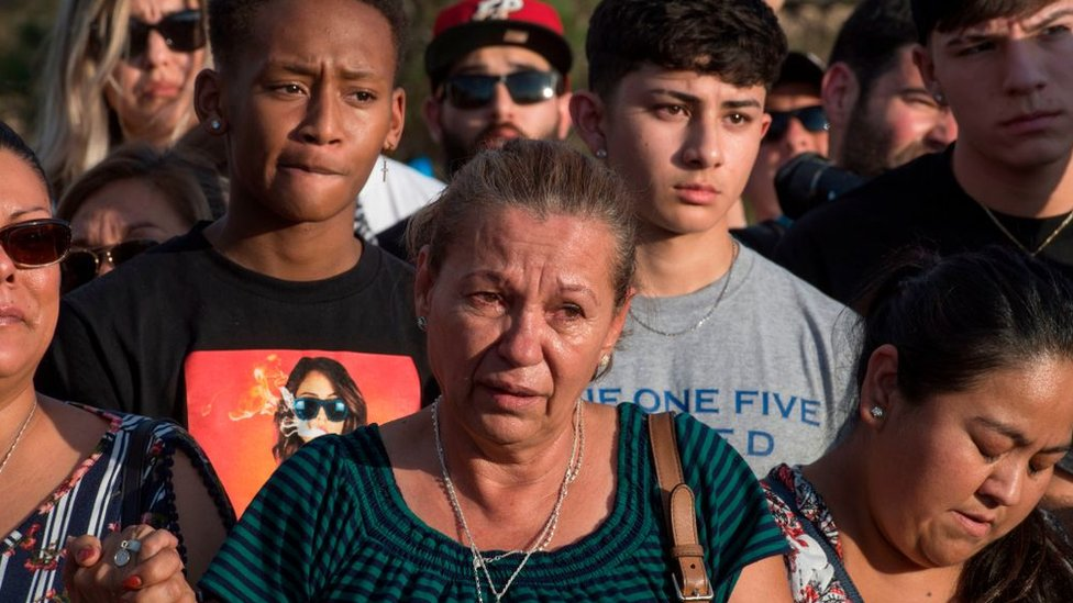 """La masacre en El Paso está siendo tratada como """"terrorismo doméstico""""."""