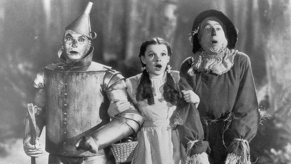 El Mago de Oz se estrenó en 1939.