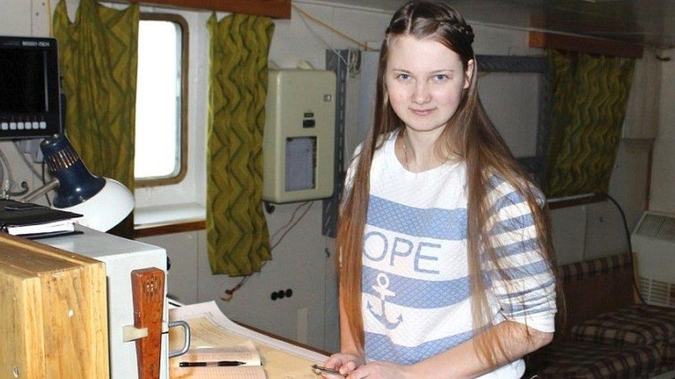 Marina Migunova realizó el descubrimiento.