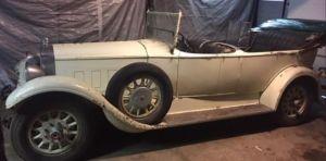 Como una cápsula del tiempo: hallan un Packard 640 Phaeton de 1929 en perfectas condiciones