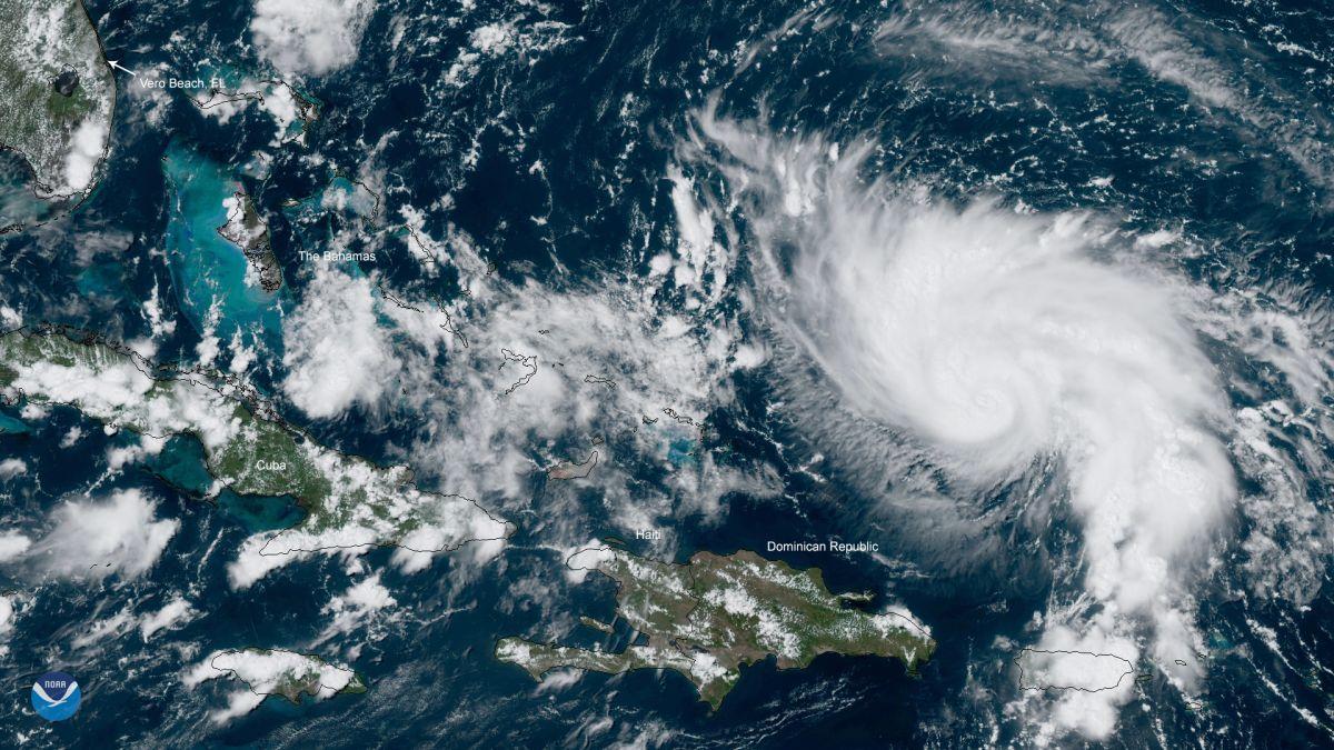 El huracán Dorian se dirige a Florida.