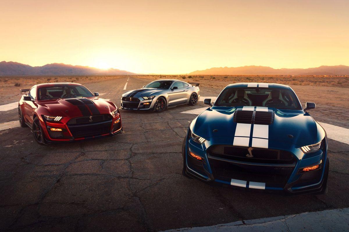 El Ford Shelby GT500 2020 tiene un precio inicial de $$73,995, sin contar varios complementos como las franjas