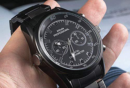 Los 3 mejores relojes con cámara espía por menos de $50