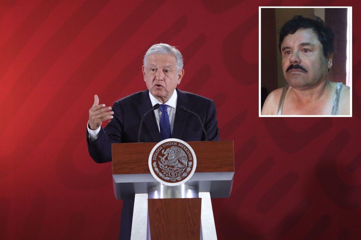 """AMLO y """"El Chapo""""."""