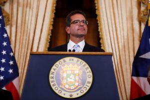 """""""Su gobierno está en buenas manos"""", dice Pierluisi luego de asumir como gobernador de Puerto Rico"""