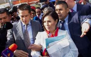 Rosario Robles formaliza colaborar con Fiscalía de México en caso Estafa Maestra