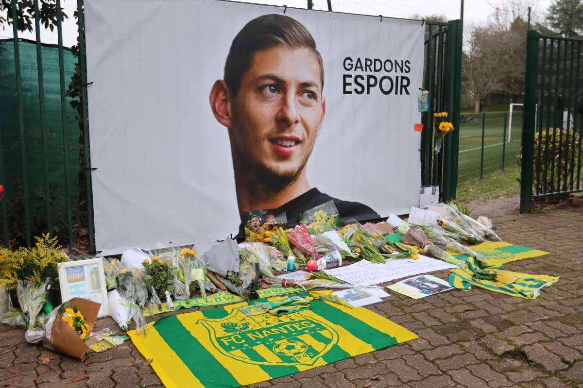 Emiliano Sala murió en un accidente aéreo