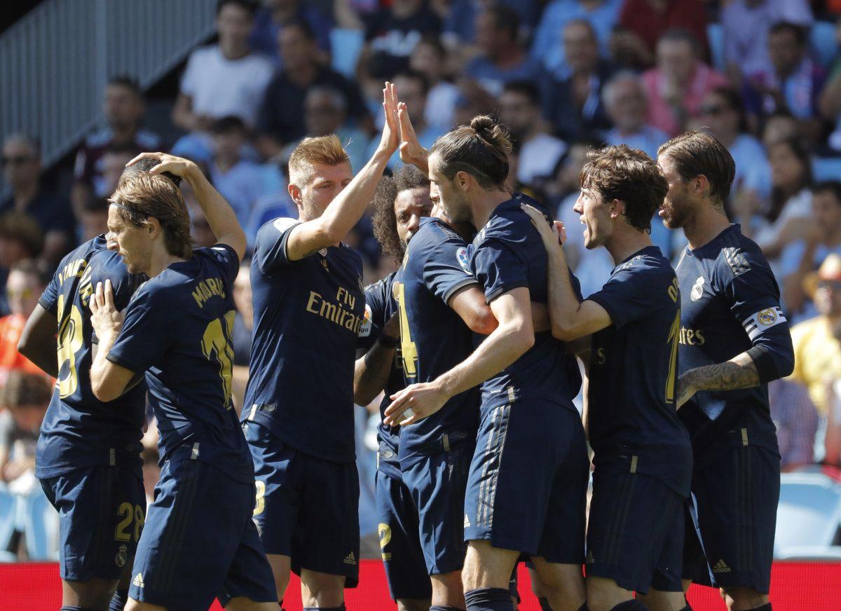 Real Madrid venció 1-3 al Celta de Vigo en Balaídos, en partido correspondiente a la jornada 1 de La Liga.
