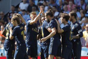 ¡Y con 10! El Real Madrid venció y convenció en La Liga tras 3-1 sobre el Celta de Vigo