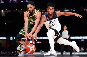 ¡Mega sorpresa en basquetbol! Australia venció a Estados Unidos con todo y sus estrellas de la NBA