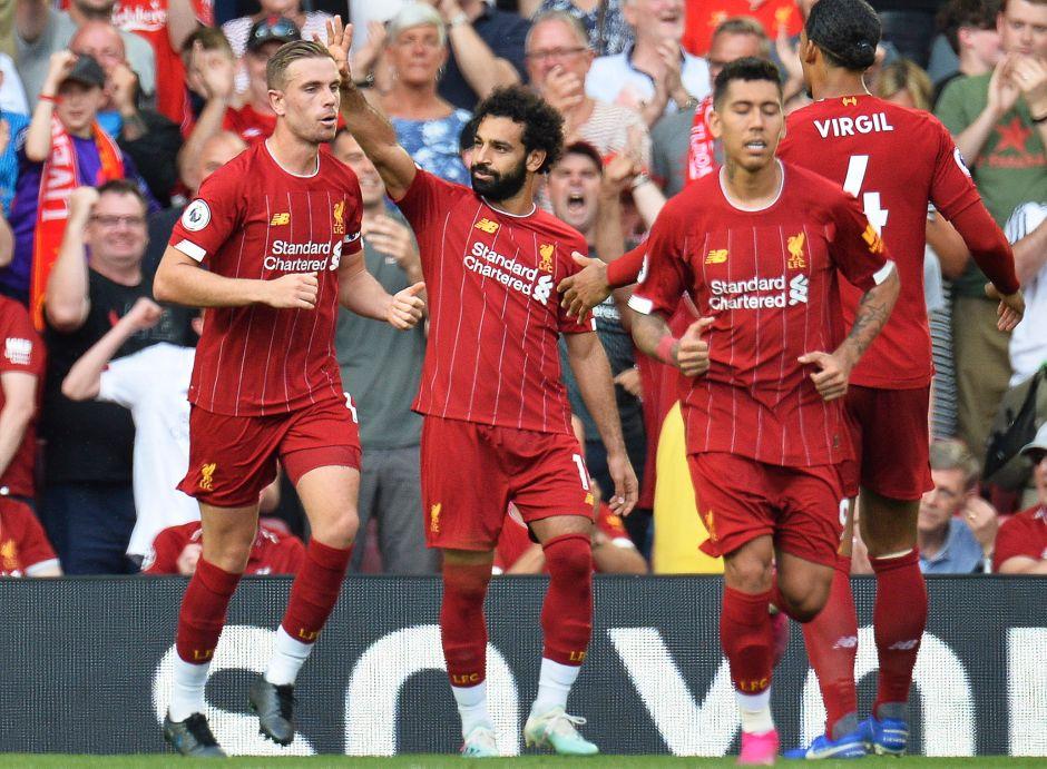 El Liverpool pleno manda al Arsenal a las tinieblas y es líder en la Premier