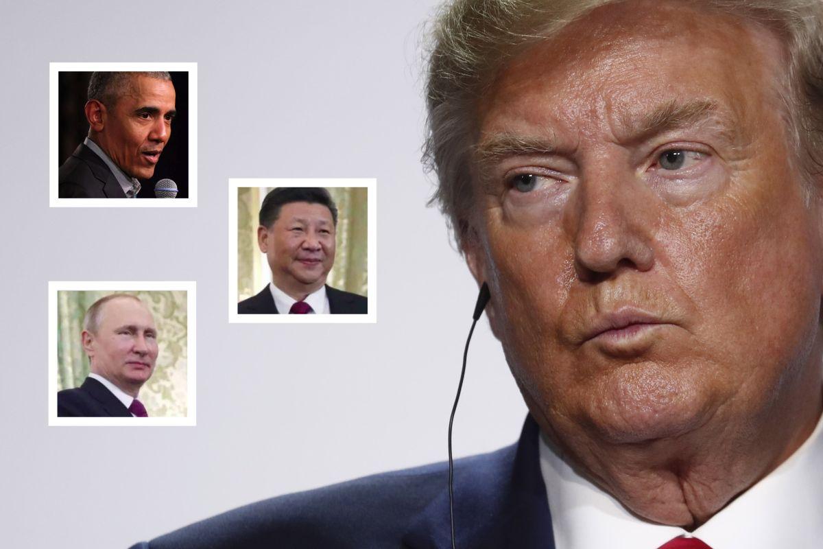 Trump arma revuelo con controvertidas declaraciones en importante encuentro internacional