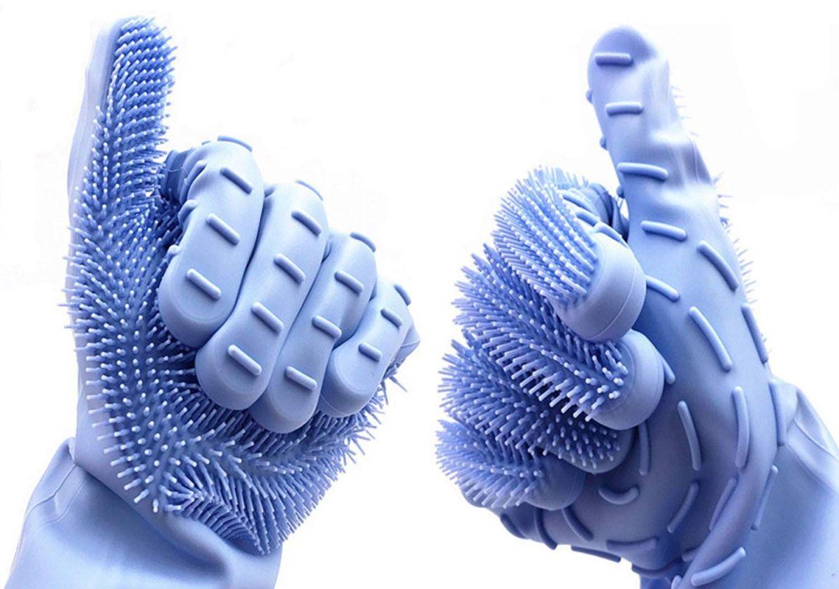 Los 3 mejores guantes para lavar los platos y que no lastimen tus manos