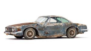 No creerás cuánto vale este oxidado Maserati 5000 GT de 1961