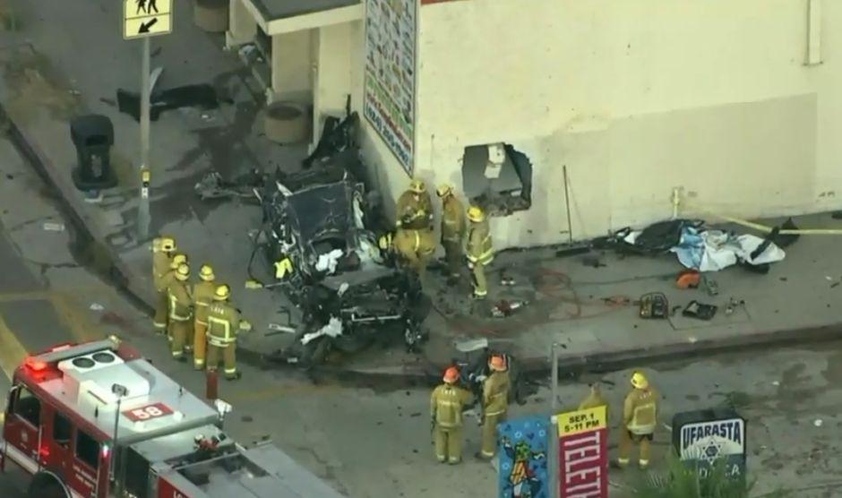 Accidente fatal en Pico Robertson tras colisión de un carro contra un edificio