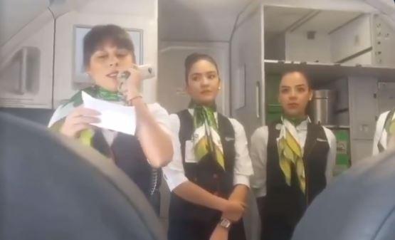 El conmovedor gesto que tuvo una tripulación de vuelo con un niño con cáncer