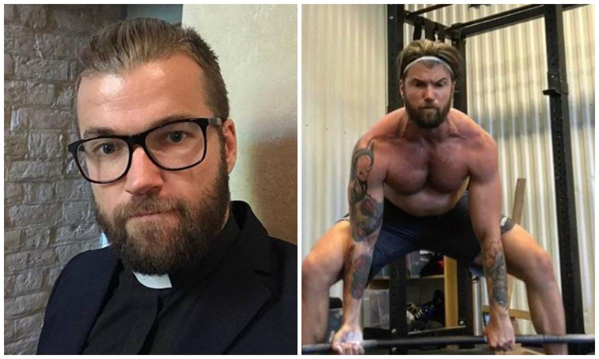 Hay quienes le encuentran parecido con Chris Hemsworth.