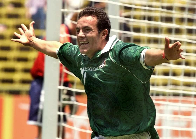Cuauhtémoc Blanco anotó en 11 diferentes ediciones.
