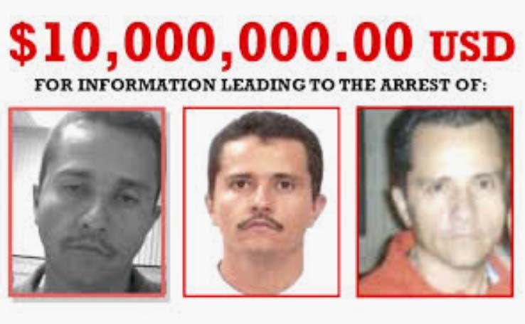 DEA de Los Angeles quiere a como dé lugar la cabeza del Mencho