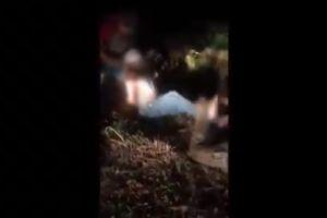 VIDEO: Imágenes fuertes, degollan a presunto dueño del bar atacado en Coatzacoalcos, Veracruz