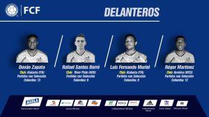 Colombia deja fuera a James y Falcao para amistosos en EEUU