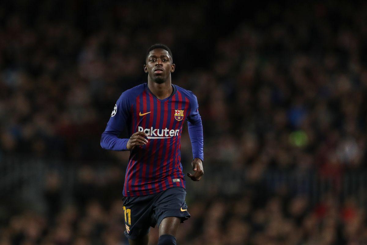 Ousmane Dembele, fichaje millonario del Barcleona, podría rendir dividendos a dos años de su llegada.