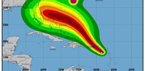 Los efectos de la tormenta Dorian en Puerto Rico se están empezando a sentir